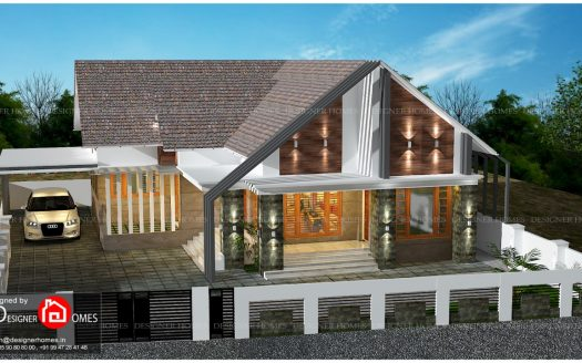 European Style House Plans in Kerala