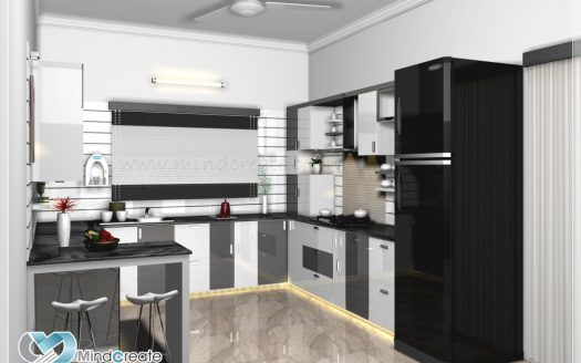 Contemporary-Model-Kitchen