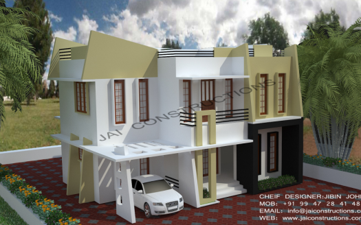 Contemporary-model-house-plans