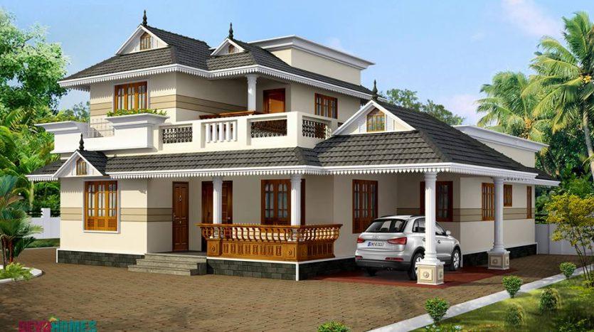 Kerala style home plans