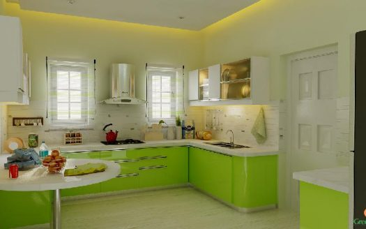 European Model Kitchen Design