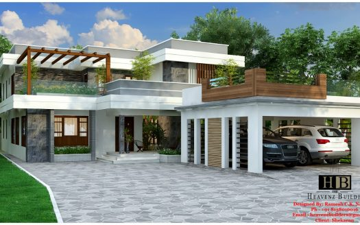 Contemporary House in Kerala