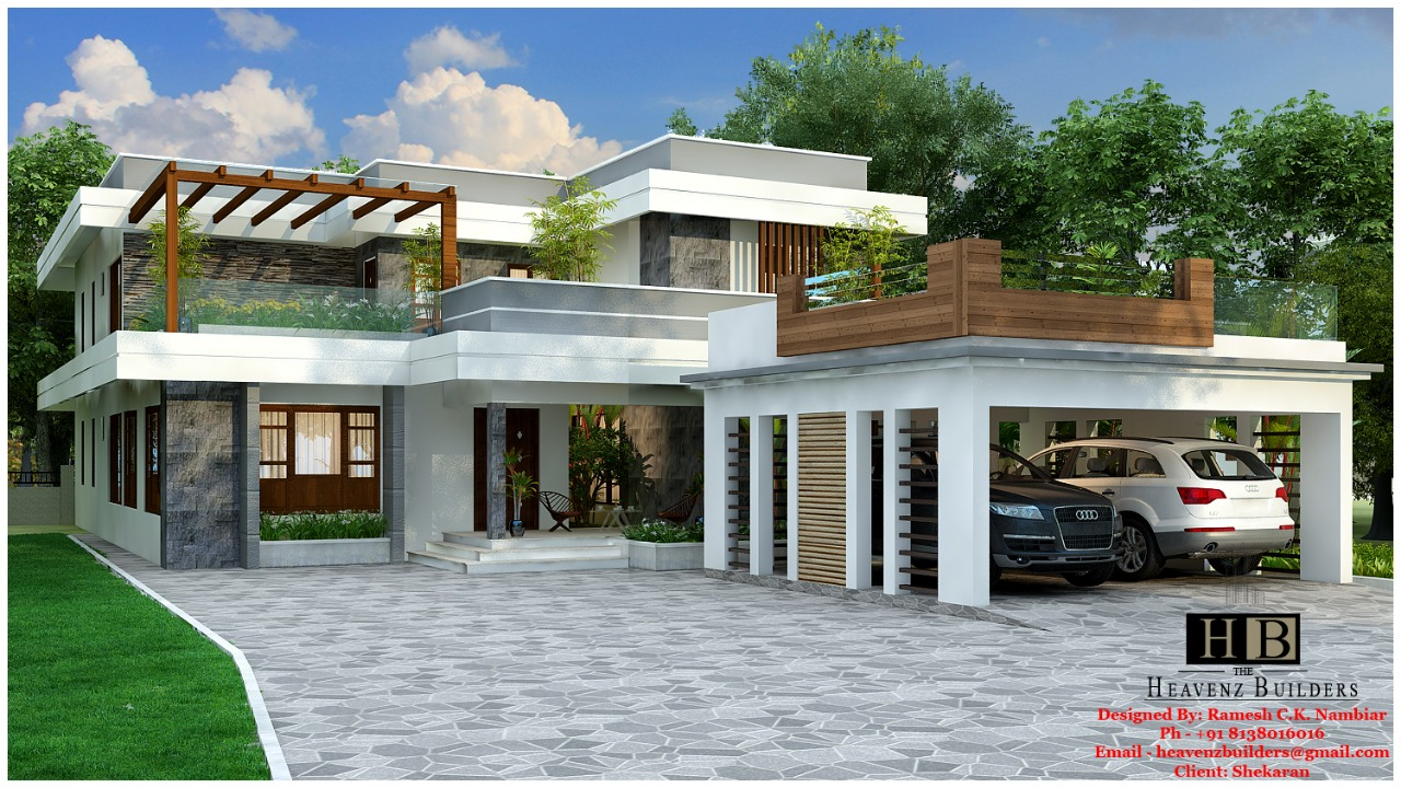 contemporary house in kerala kerala model home plans