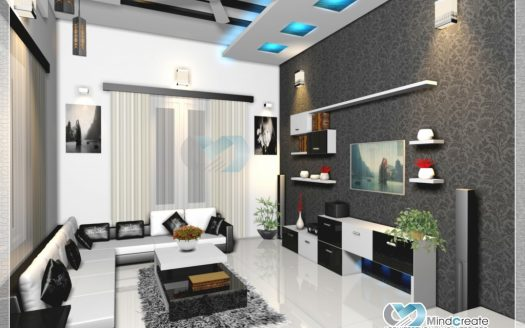 Living-room-interior-model
