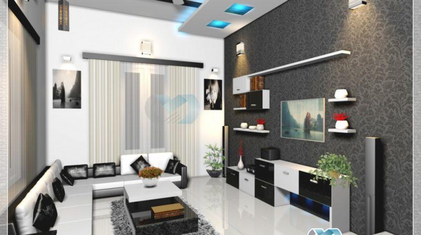 Living-room-interior-model