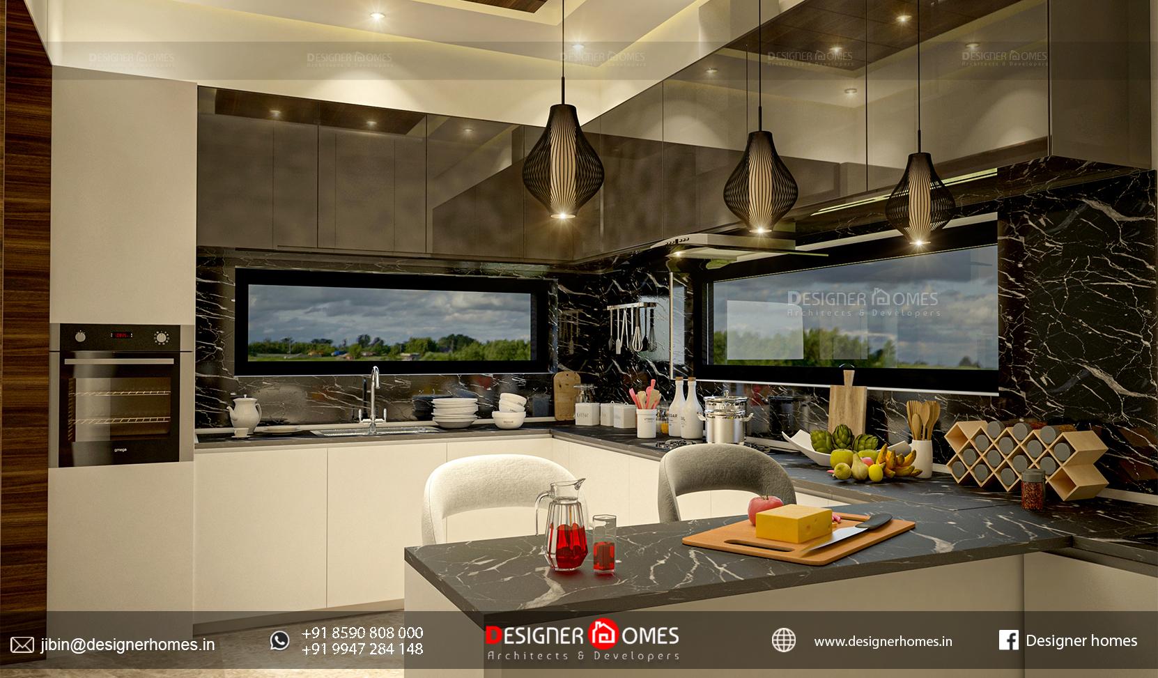 Kerala Style Modular Kitchen Kerala Model Home Plans